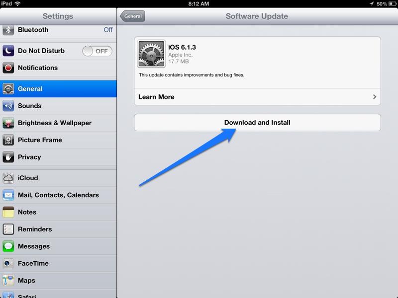 Software-Update-iPad