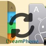מדריך : איך לסנכרן את אנשי הקשר בין האנדרואיד והאייפון שלכם