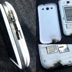 סמסונג מסבירה למה נשרף מכשיר ה-Galaxy S3