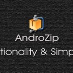 חילוץ קבצי RAR ו-ZIP לאנדרואיד : AndroZip File Manager